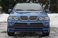 Накладки (обвес) под 4.8 на передний и задний бампера BMW X5 (E53) рестайлинг