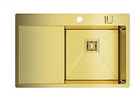 Кухонная мойка Omoikiri Akisame 78-LG-R (4993086) нерж сталь 45 см, фото 1