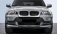 Обвес М Перфоманс дубликат на передний и задний бампера BMW X5 (E70) дорестайлинг