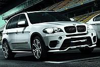 Обвес М Перфоманс дубликат на передний и задний бампера BMW X5 (E70) рестайлинг, фото 1