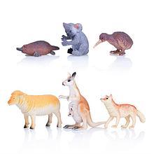 Набор из 6-и животных Австралии в пакете