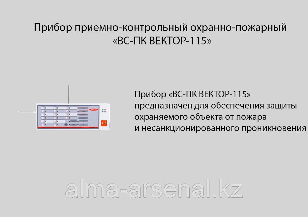ВС-ПК ВЕКТОР-115, Прибор приемно-контрольный охранно-пожарный