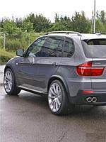 Расширители колесных арок BMW X5 E70