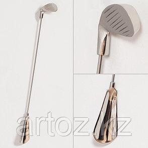 Ложка для обуви  Shoe Horn In Metal Nickel Finish, фото 2