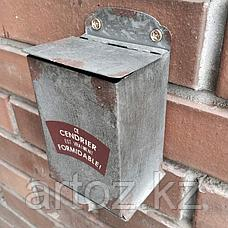 Пепельница, серый металл  Ashtray Grey Metal, фото 3