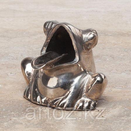 Пепельница Лягушка  Frog Ashtray Antique Silver Finish, фото 2