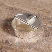 Пепельница, малая Small Ashtray In Silver