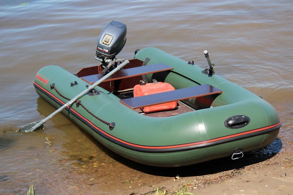 Лодка надувная МНЕВ CATFISH CF-340  (пайолы)(оливковый)(4 местн.) Z29410