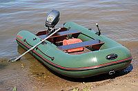Лодка надувная МНЕВ CATFISH CF-340  (пайолы)(оливковый)(4 местн.) Z29410, фото 1