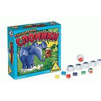 Игра настольная Разноцветные слоники, арт.737695