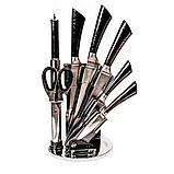 Набор ножей из нержавеющей стали на подставке KITCHEN KING (8 предметов), фото 2