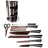Набор ножей из нержавеющей стали на подставке KITCHEN KING (8 предметов), фото 3