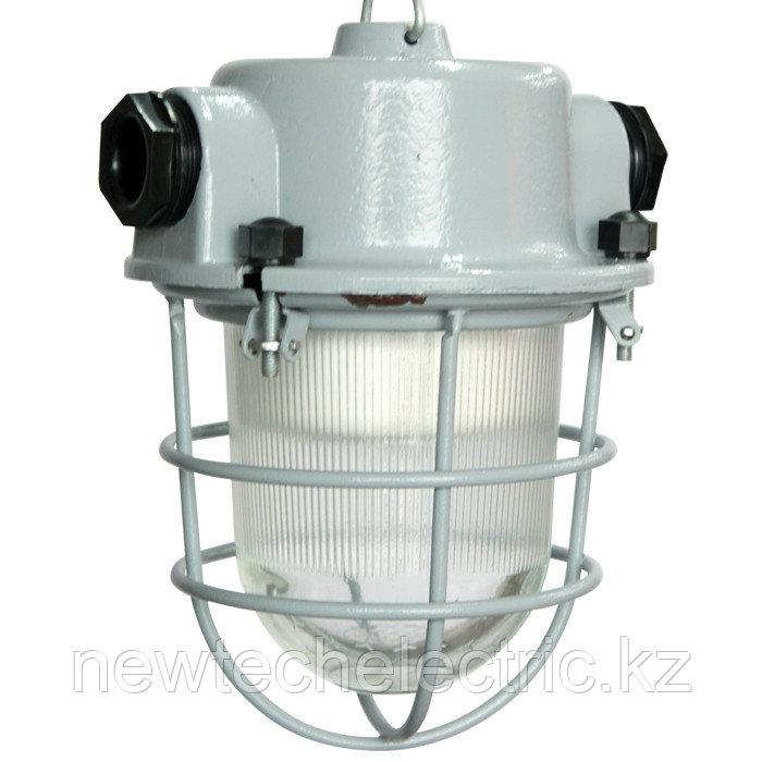 """Светильник """"Спецсвет"""" НСП 01-009-201 127В IP54 Шахтер с решеткой алюминиевый сплав,  серый 1030450144"""