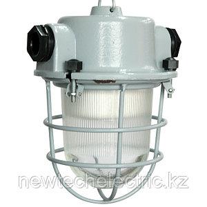 """Светильник """"Спецсвет"""" НСП 01-009-201 220В IP54 Шахтер с решеткой алюминиевый сплав,  серый 1030450143"""