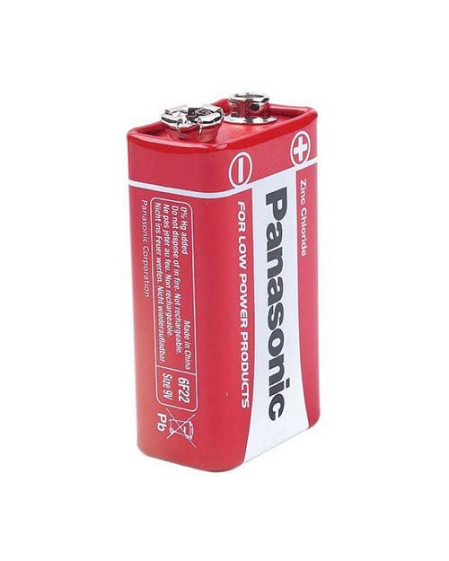 PANASONIC 6f22REL/1BPR Батарейка солевая Red Zinc крона (1 шт/уп)