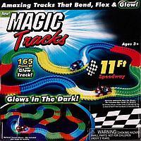 Светящаяся гоночная трасса Magic Track (165 деталей дороги)