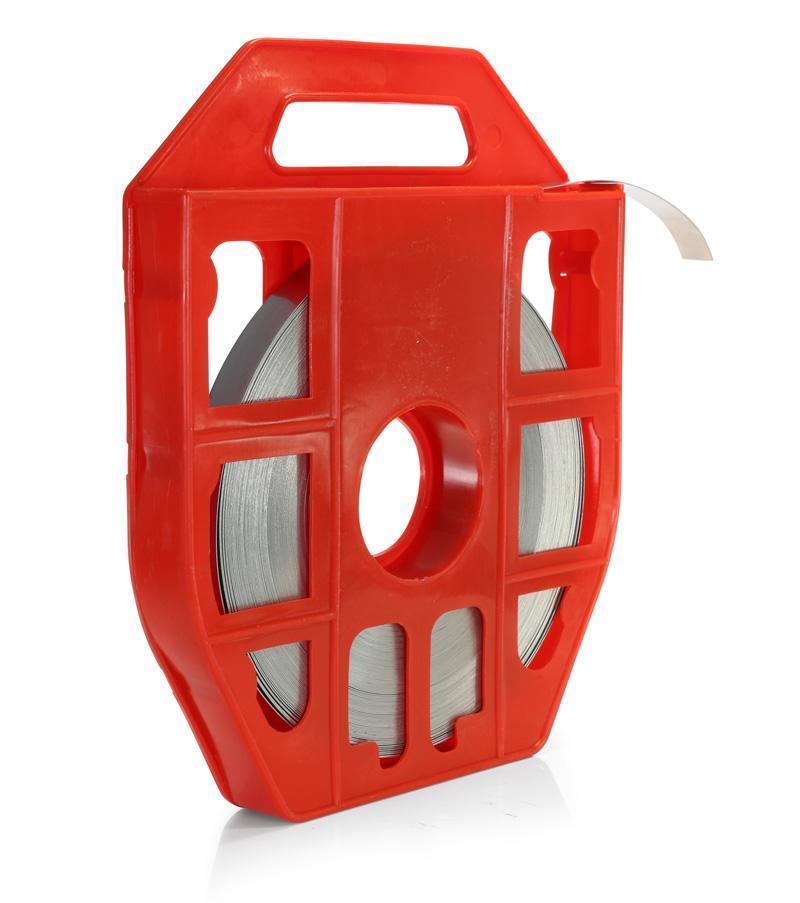 Лента монтажная из нержавеющей стали в пластиковой кассете ЛКС (201) ™Fortisflex