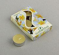 Набор чайных свечей ароматизированных «Ваниль», 12 г, 6 штук