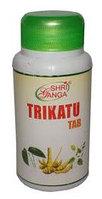 Трикату, Шри Ганга /Trikatu tab, Shri Ganga зашлакованность организма, 120 таблеток