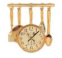 """Часы настенные кухонные """"Столовые приборы"""""""