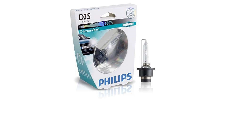 Ксеноновые лампы D2R XV 4600К / PHILIPS