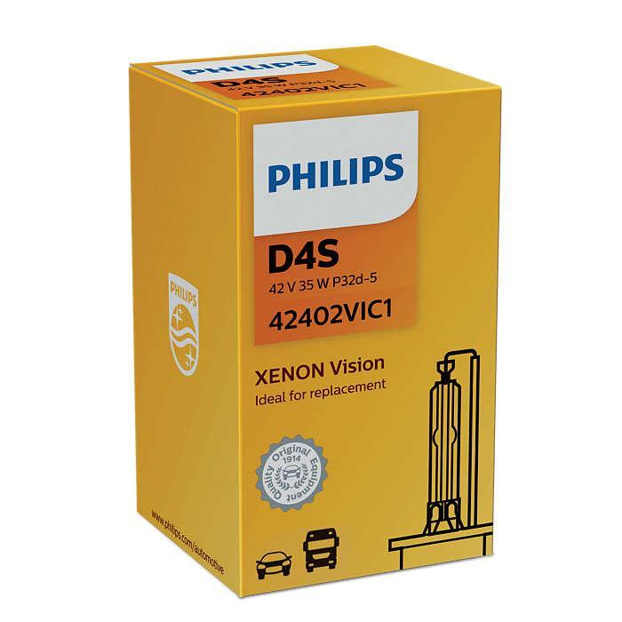 Ксеноновые лампы D4S Xenon Vision 4600K /Philips