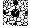"""Часы настенные интерьерные """"Серия Акрил. Ажурные кружки"""", d=30 см"""