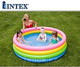 """Надувной детский бассейн """"Радуга"""" Intex, фото 2"""