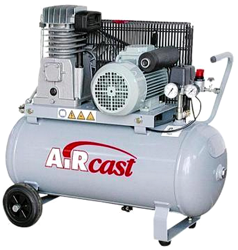 Поршневой компрессор с электродвигателем Remeza Aircast СБ4/С-50.LH20-2.2