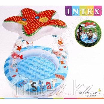 Intex Детский надувной бассейн Морская звезда 102 см х 86 см