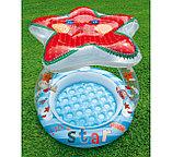 Intex Детский надувной бассейн Морская звезда 102 см х 86 см, фото 2