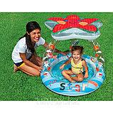 Intex Детский надувной бассейн Морская звезда 102 см х 86 см, фото 3
