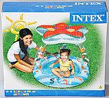 Intex Детский надувной бассейн Морская звезда 102 см х 86 см, фото 4