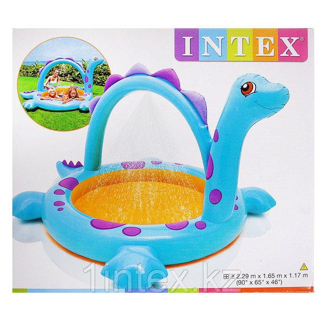 """Надувной бассейн """"Динозавр"""" Intex"""