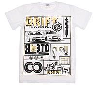 "Футболка мужская Collorista Gold ""Drift"", размер S (44),M,L (48). XL 100% хлопок, трикотаж"