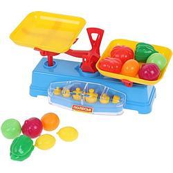Игровой набор Полесье Весы+набор продуктов, 12 элементов