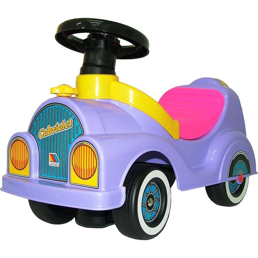 Каталка-автомобиль Полесье Кабриолет со звуковым сигналом