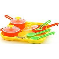 Набор детской посуды Полесье поваренок №1 с подносом