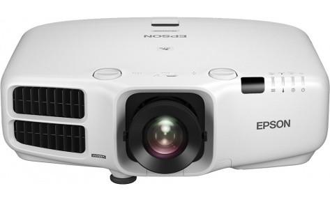 Проектор инсталяционный Epson EB-G6450WU + среднефокусный объектив ELPLM04