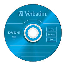 DVD-R  4.7GB Color Verbatim, фото 3