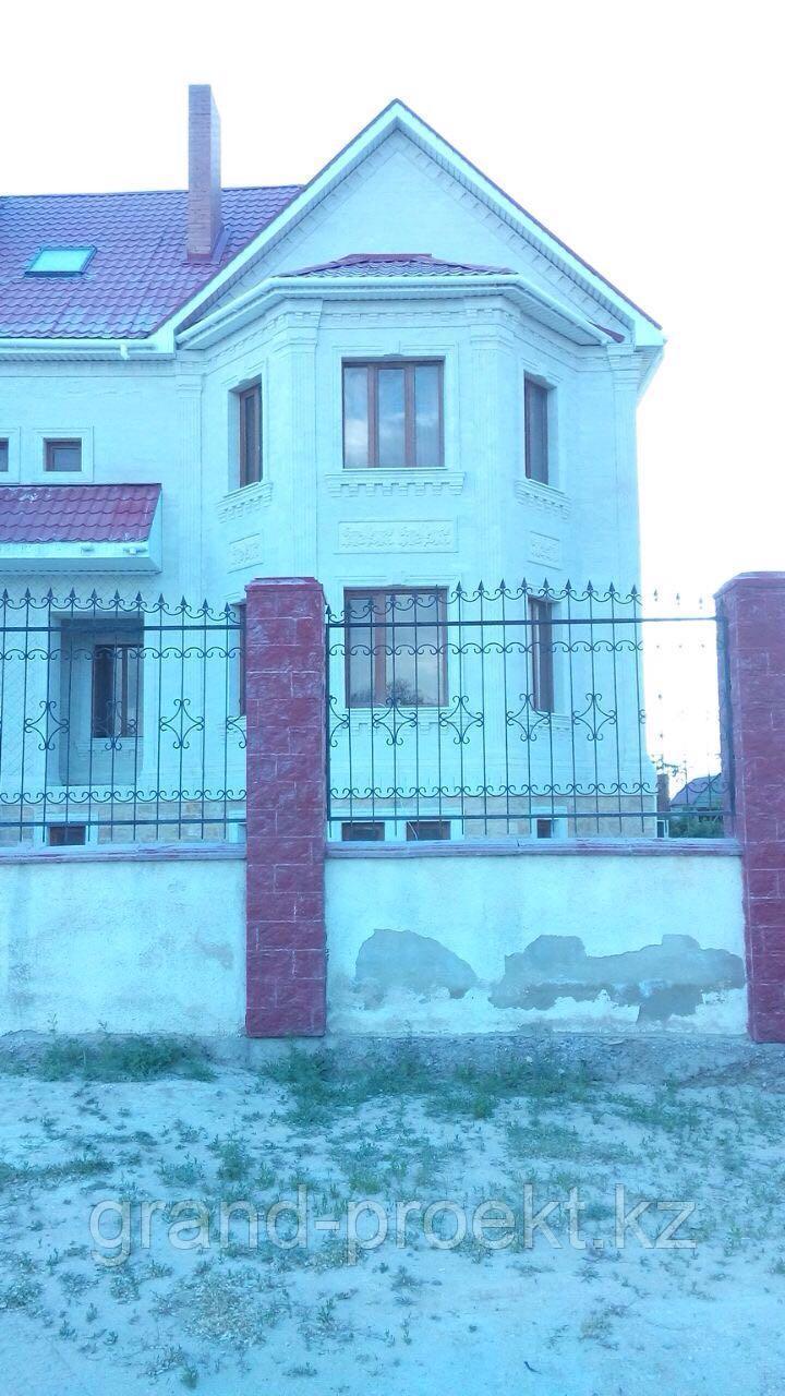 Отделка фасада мрамором