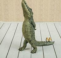 "Сувенир ""Важный крокодил"" 18х7х21,5 см, фото 1"
