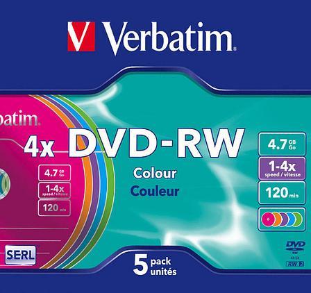DVD-RW  4X 4.7GB Verbatim, фото 2