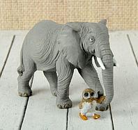 """Сувенир """"Слон на прогулке"""" 15х6,5х10 см, фото 1"""