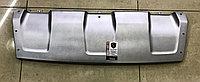 Накладка переднего бампера верхняя Geely X7