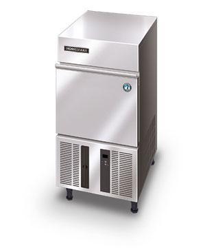 Льдогенератор Hoshizaki д/кускового льда 28кг/сут, бункер 11.5кг, кубик S, возд.охлаждение