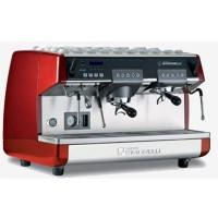 Кофемашина-автомат Nuova Simonelli, 2 группы (выс.+низк.), бойлер 14л, красная, 220V, LED
