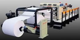 CHM-1400II - листорезательная машина для расфлатовки рулонных материалов на листы