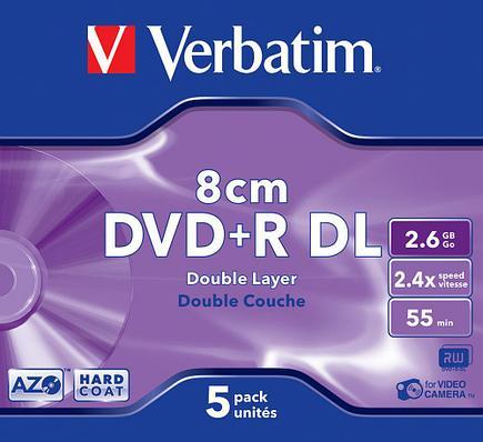 DVD+R 2.6GB 8cm Verbatim, фото 2