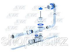C6255 Cифон АНИ Варяг для ванны регулир. с гиб. трубой 40*50